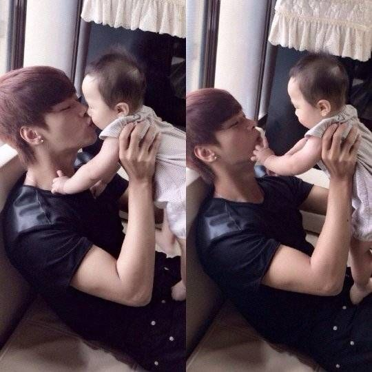VIXX's N is a happy uncle during Chuseok in adorable snapshots | allkpop