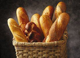 A Classic French Bread recipe, from the Gold Medal Flour site. It's gotta be good!