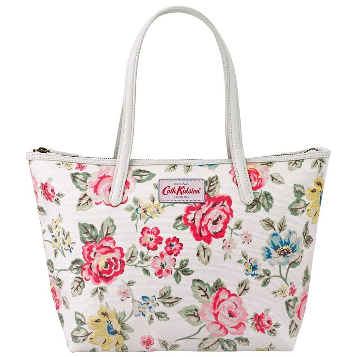 Rainbow Rose Small Leather Trim Tote | View All | CathKidston
