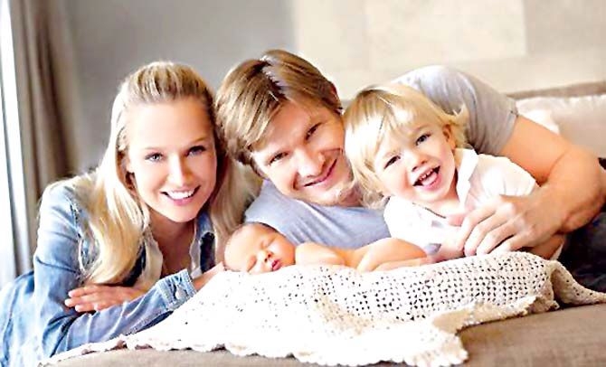 Shane Watson with family #cricket Australia