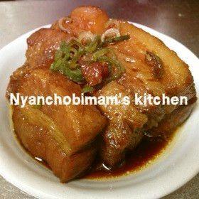 簡単に☆柔らか豚の角煮☆ by にゃんちょびママ☆ [クックパッド] 簡単おいしいみんなのレシピが220万品