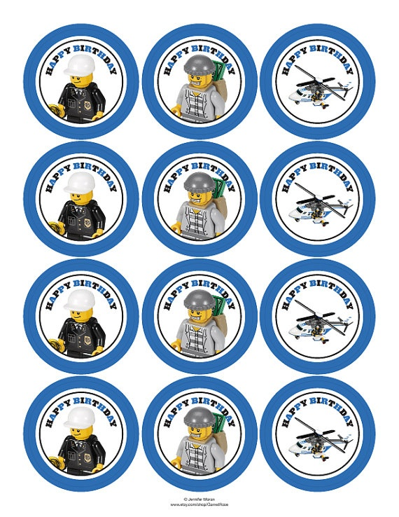police party printables $30