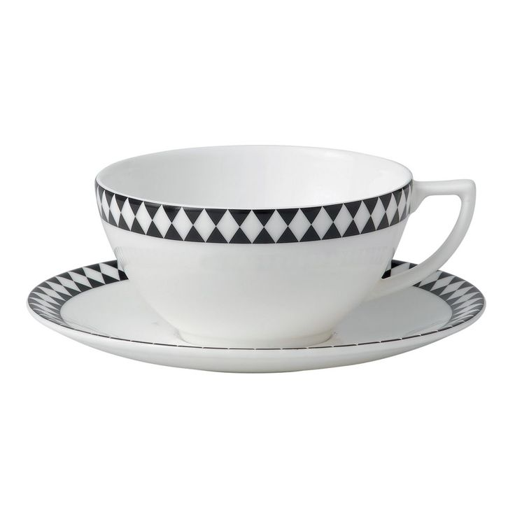 Jasper Conran at Wedgwood Mosaic Transitional Tea Saucer