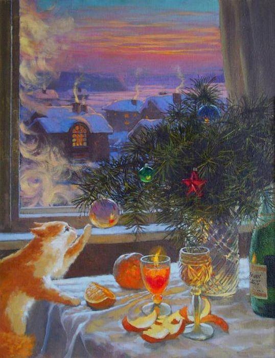 21 картина, наполненная волшебством и радостью Нового года