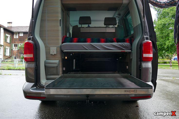 vw t5 t6 heckauszug comfortline ocean camperx 3 roger 39 s dream camper vw bus bulli innen. Black Bedroom Furniture Sets. Home Design Ideas