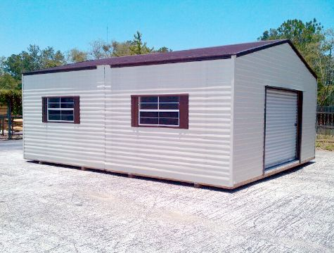 Double Wide Metal Sheds For Sale