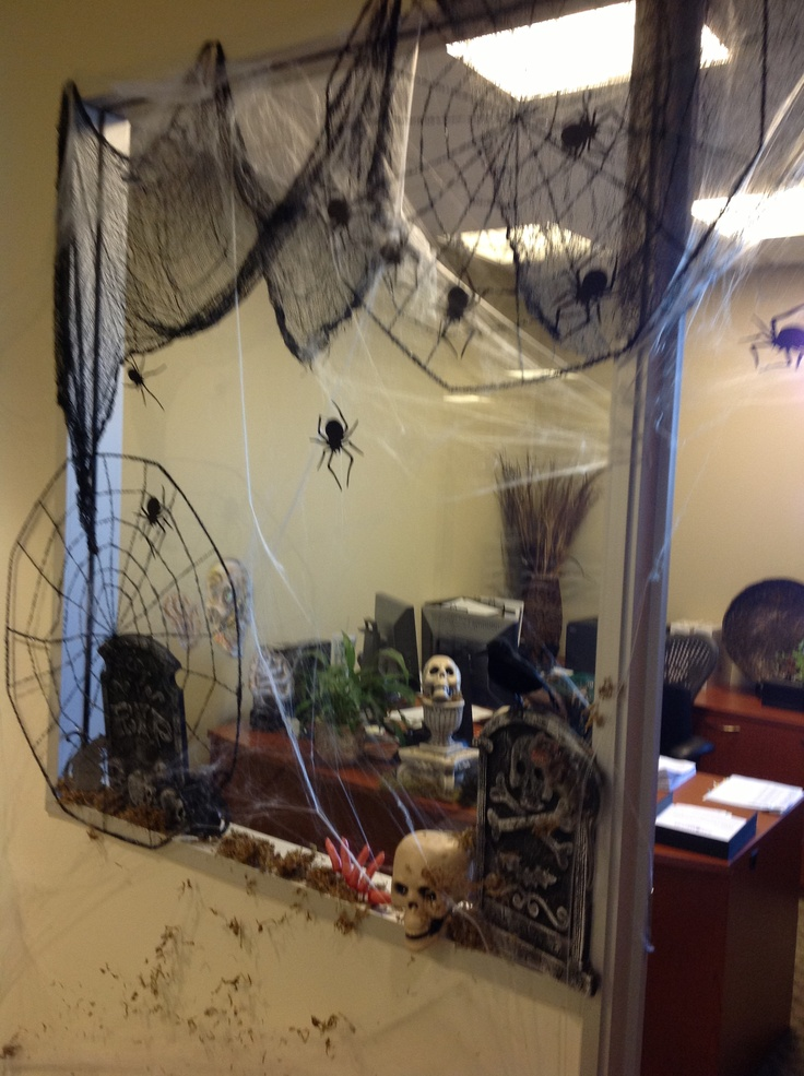 Appealing Halloween Office Decorations