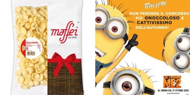 Cattivissimo ME 2 e pastificio Maffei: il cinema danimazione con le mani in pasta . Sono proprio i Minions il trait dunion tra Universal e Maffei.