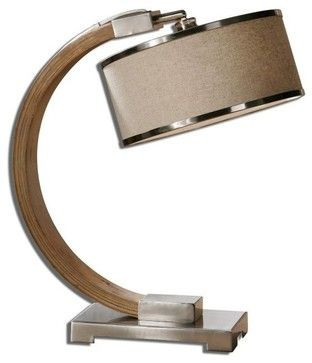 Carolyn Kinder Metauro Wood Transitional Desk Lamp X-1-77562 transitional-desk-lamps