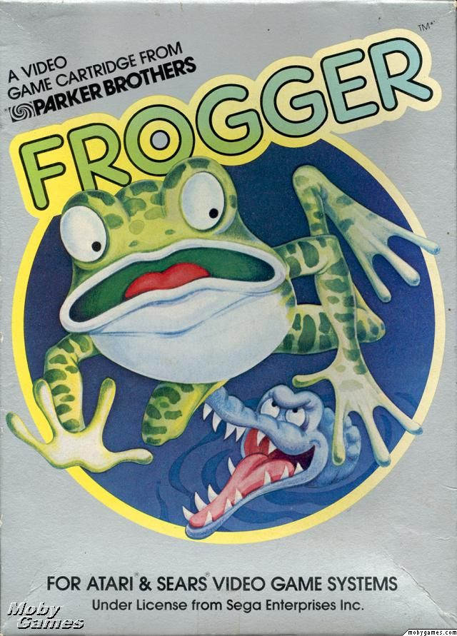 Frogger...frogs on logs, frogs on roads...where did the frogs go?