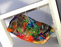 """""""Losing Memo"""" Paperclip & Wax Sculpture"""