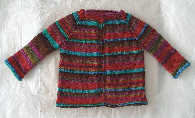striped baby cardigan | Flickr - Photo Sharing!