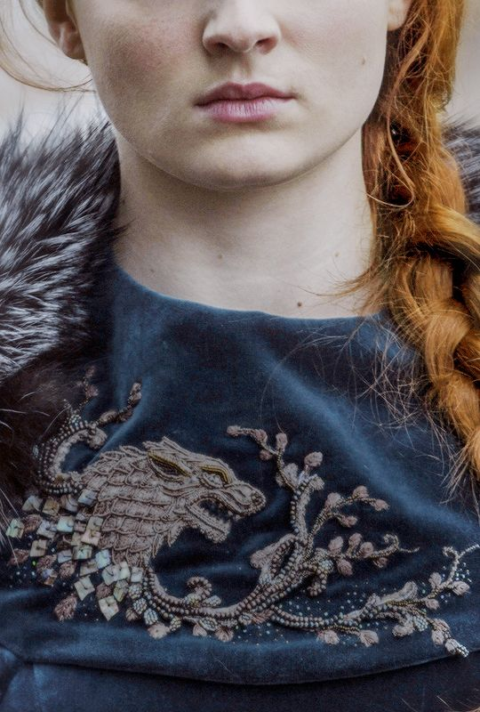 "stormbornvalkyrie: "" Sansa Stark in Game of Thrones + Costume Details 