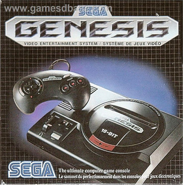 Sega Genesis. Anybody remember this ? One of the best consoles ever !! At least I think so.