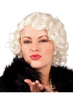Cabaret 1920s Flapper Wig Blonde
