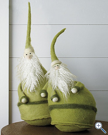 I love these and would love to make some of my own! They would make such cute door stops!