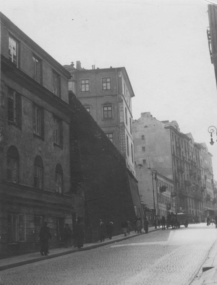 Warszawa międzywojenna - Tamka