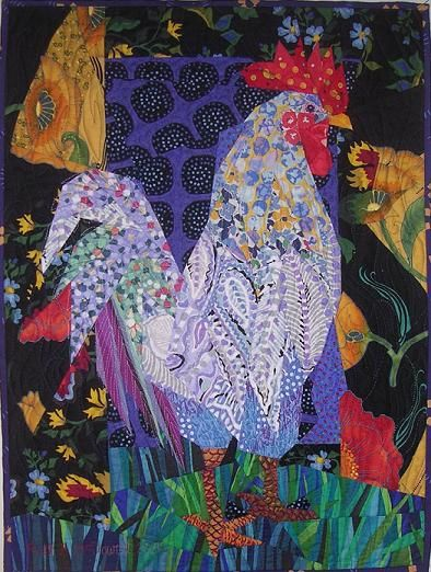 More on Ruth McDowell Quilts! - Articles - Fiber Art Now Resource   Contemporary Fiber Arts & Textiles