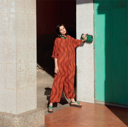 #MMissoni | Vertical waves knit jumpsuit | Summer 2014 Collection