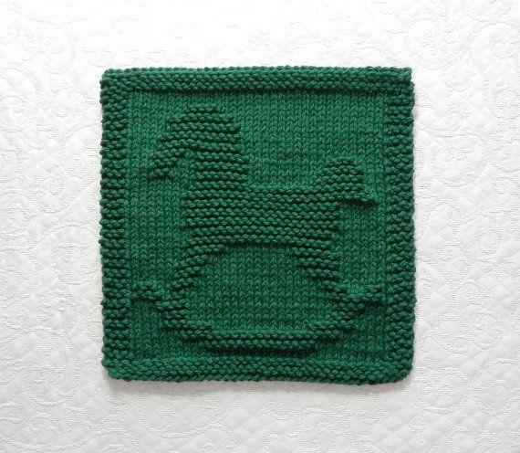 Knit Dishcloth Pattern Horse : 17 Best images about Knitting/Crochet nick nacks on Pinterest Knit patterns...