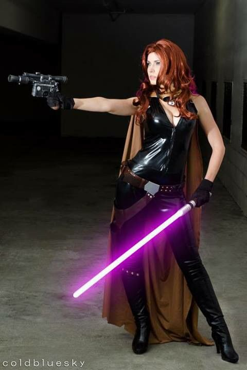 #Cosplay Star Wars: Mara Jade