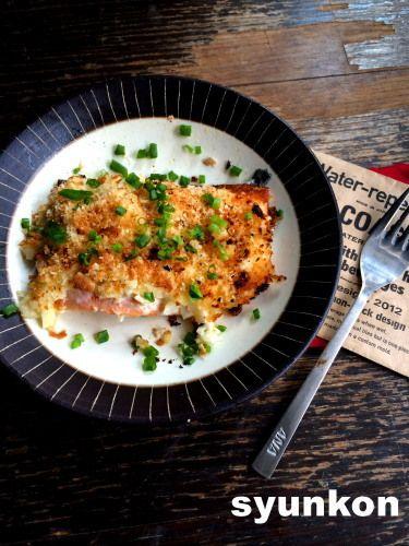 【簡単!!】おすすめです。トースターで*鮭の玉ねぎマヨネーズ焼き |山本ゆりオフィシャルブログ「含み笑いのカフェごはん『syunkon』」Powered by Ameba