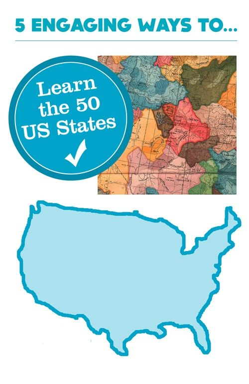 Learning the 50 states can easily go beyond name recognition with a unique combination of engaging tools.