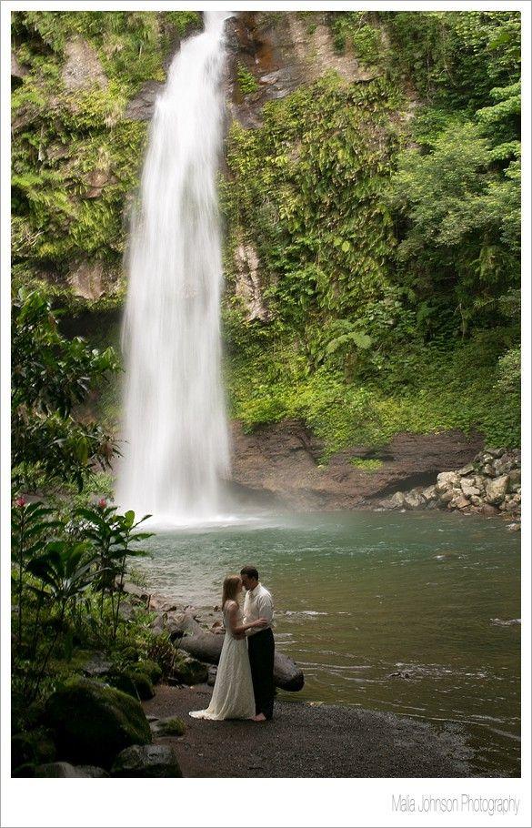 Taveuni Trash the Dress, Fiji Wedding Photography  |  Waterfall Wedding Photos