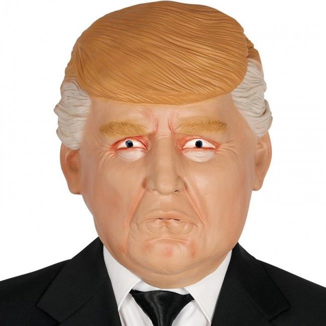 Máscara Presidente Donald Trump #máscaras #antifaces