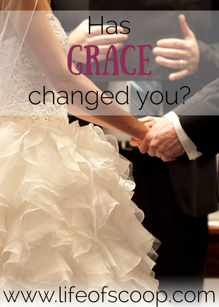 Grace - what a powerful word! It should change you. Do you think grace has changed you? This is a reflection on Matthew 22:1-14 with some thoughts on grace.