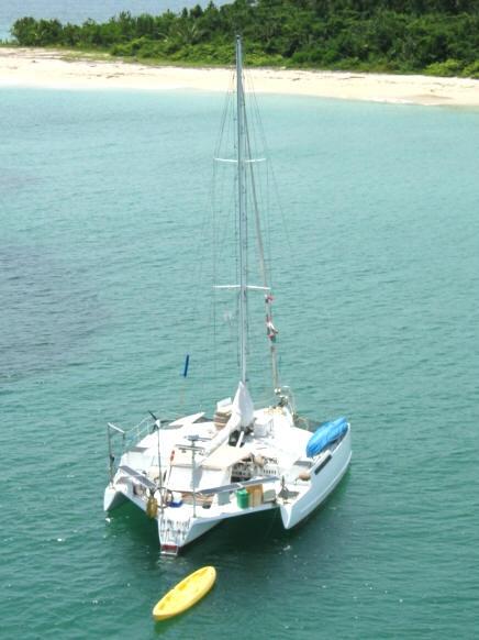 Sailing in Panama Diving in Panama Sailboat Charters