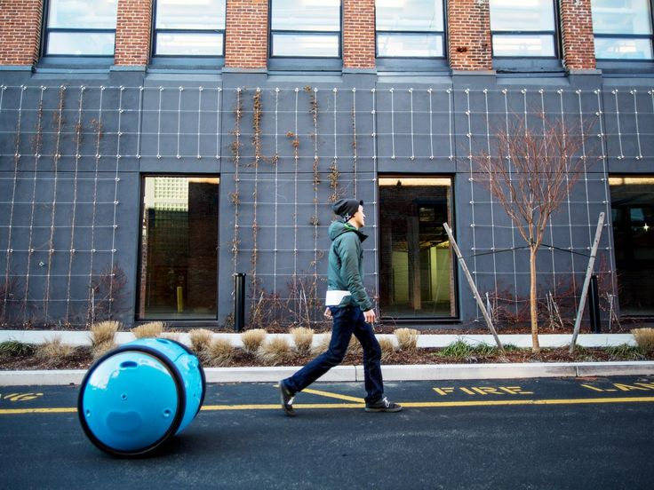 "Vespa parent company Piaggio Group just announced Gita, your personal cargo robot. It's designed to haul up to 40 pounds of you stuff in a fully autonomous mode, or by being direct controlled.  The bright blue spherical bot has the same ""braking, balancing and vehicle dynamics that you would expect of a high-performance motorcycle,"" according to Piaggio.  In fact, with a top speed of 22 mph, it can even keep up with your on a bicycle.   Initially targeted for business users, the plan is to…"