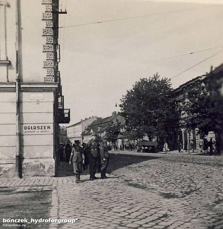 Lata 1942-1944 , Ulica Limanowskiego - czas okupacji.