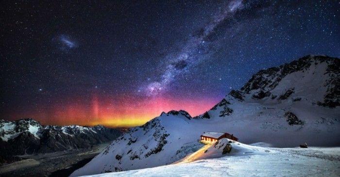 Νυχτερινός ουρανός σε διάφορα σημεία του πλανήτη!
