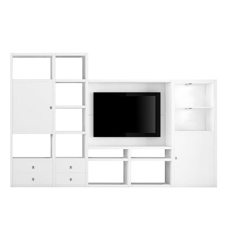 Hifi möbel wandmontage  Die besten 20+ Tv wand weiß Ideen auf Pinterest | Sideboard weiß ...
