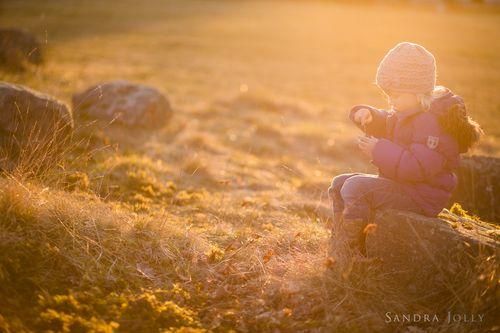 In her own little world — Sandra Jolly