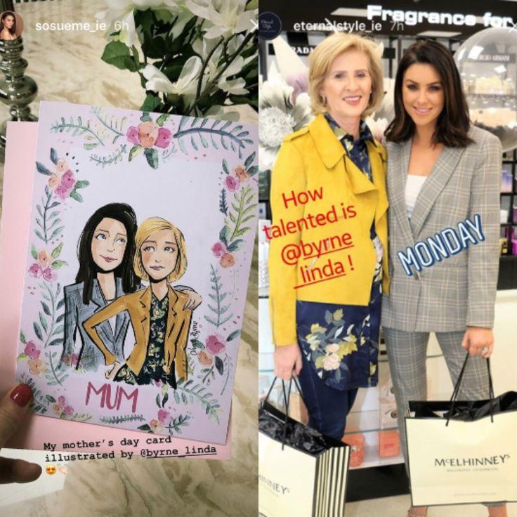 Bespoke Gifts | Celebrating Mother's Day – Linda Byrne Illustration, Suzanne Jackson, So Sue Me, Mothers Day, www.lindabyrneillustration.com