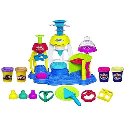 Kids Play Doh Set Play Little Creations Sweet Shoppe Frosting Fun Bakery Gift  #PlayDoh