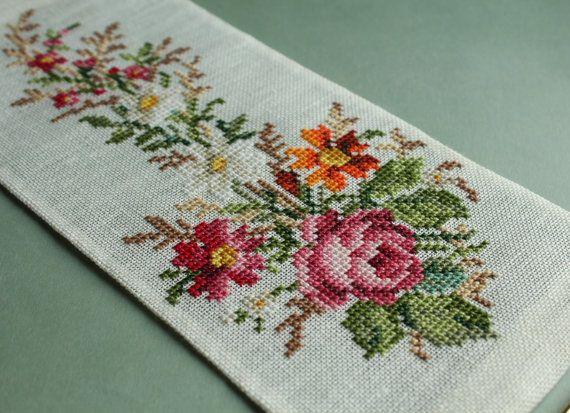 Sajou mini bell pull - Cross stitch pattern PDF . Instant download