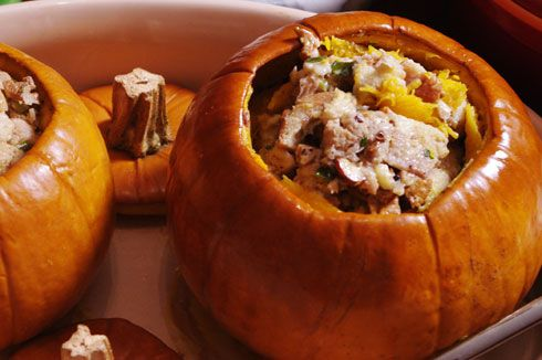 Pumpkin stuffed with everything good, from the Full Circle Farm food ...
