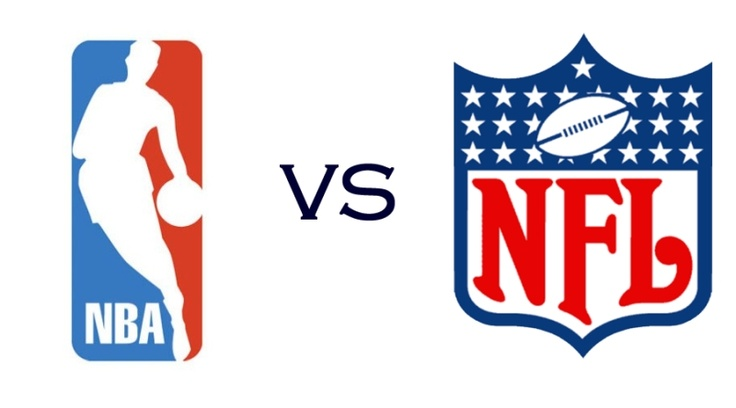 NBA vs NFL