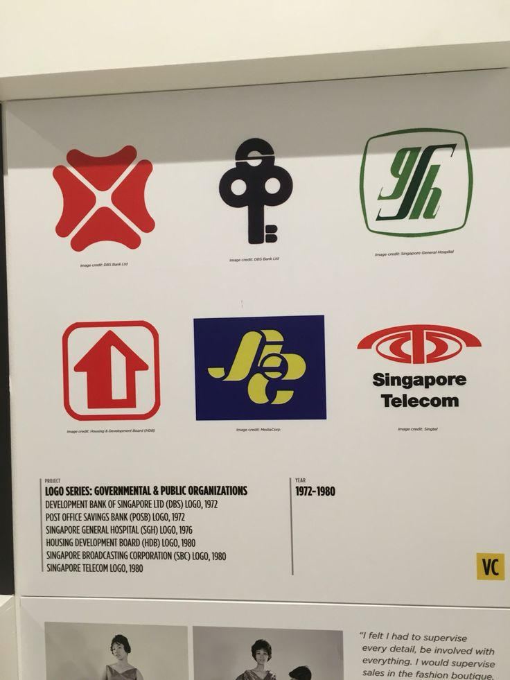 "2. 1972-1980 ""LOGO SERIES: GOVERNMENTAL & PUBLIC ORGANISATIONS"""