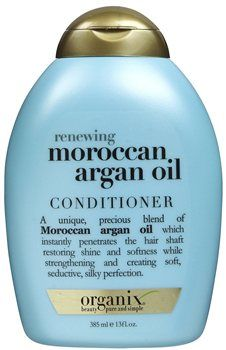 Organix Moroccan Argan Oil Conditioner Organix Moroccan Argan Oil Conditioner 385ml A unique, precious blend of Moroccan Argan Oil which helps to instantly penetrate the hair shaft restoring shine and softness while helping to strengthen a http://www.MightGet.com/january-2017-12/organix-moroccan-argan-oil-conditioner.asp