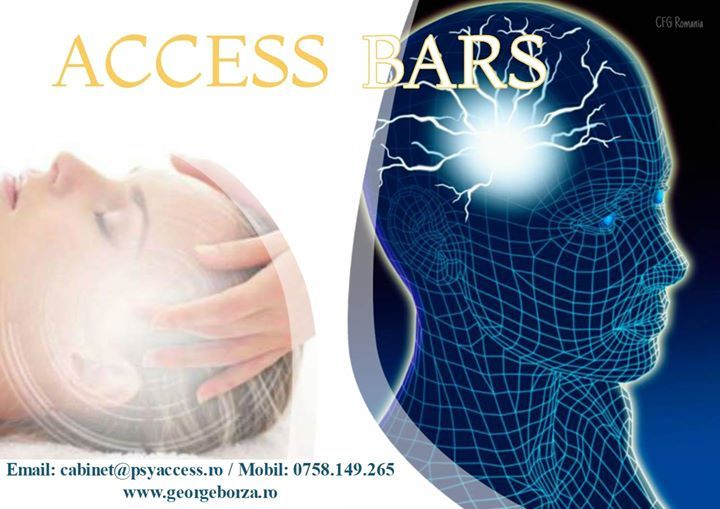 Cea mai inovatoare terapie de relaxare - Access Bars - Sedinte Individuale Email: cabinet@psyaccess.ro Mobil: 0758.149.265 http://georgeborza.ro/accessbars/ #accessbars #terapie #relaxare #cabinetpsihologic #brasov