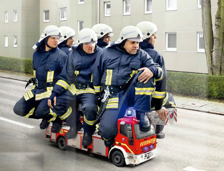 Прикольные пожарные картинки