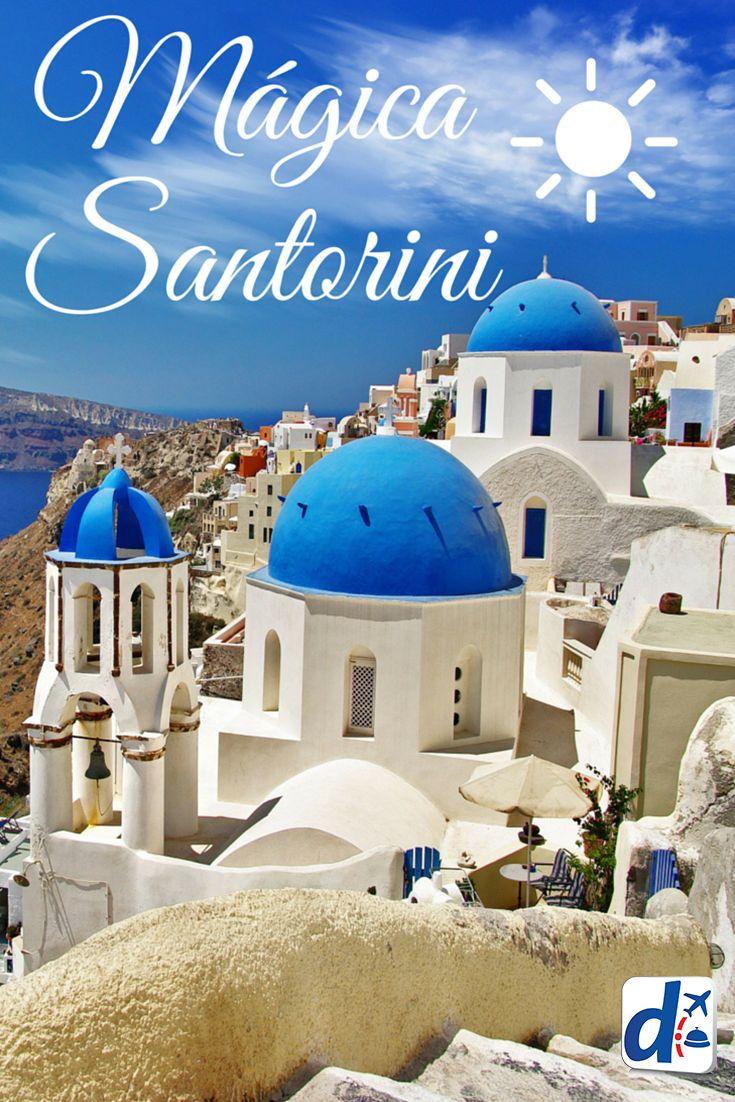 Descubre la magia de #Santorini, una de las islas más maravillosas de #Grecia. #Trip
