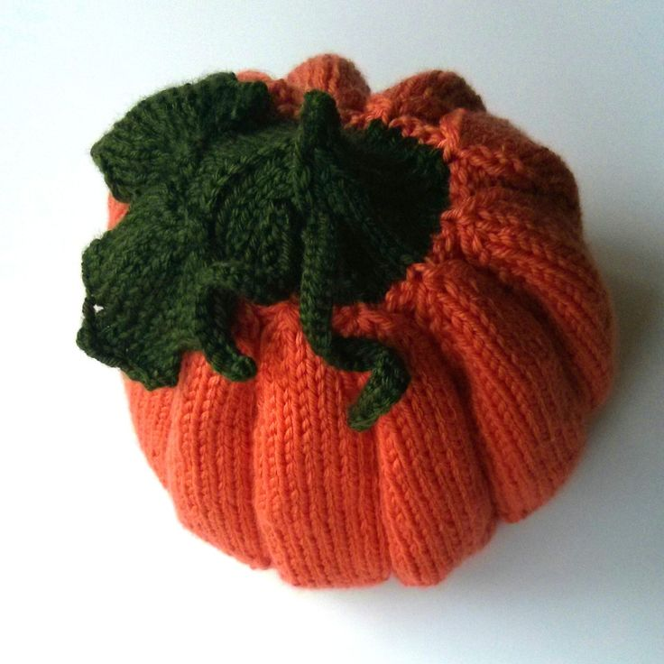 free knit pattern pumpkin head slouchy hat so cute - Free Halloween Knitting Patterns