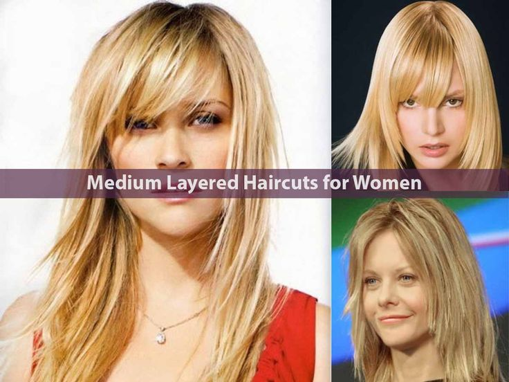 Best 25+ Medium Layered Hairstyles Ideas On Pinterest