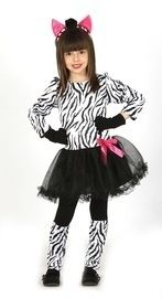 Zebra jurkje kids