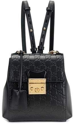 e3666a43b588 Gucci Padlock embossed leather backpack | [GROUP BOARD] Handbag ...